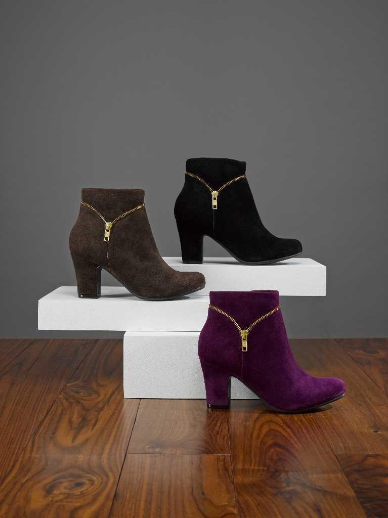 Comfortable women's heels, boot Vanity.