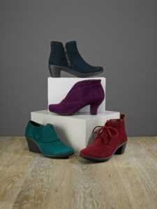 Smart ladies comfortable ankle boots by Hotter.