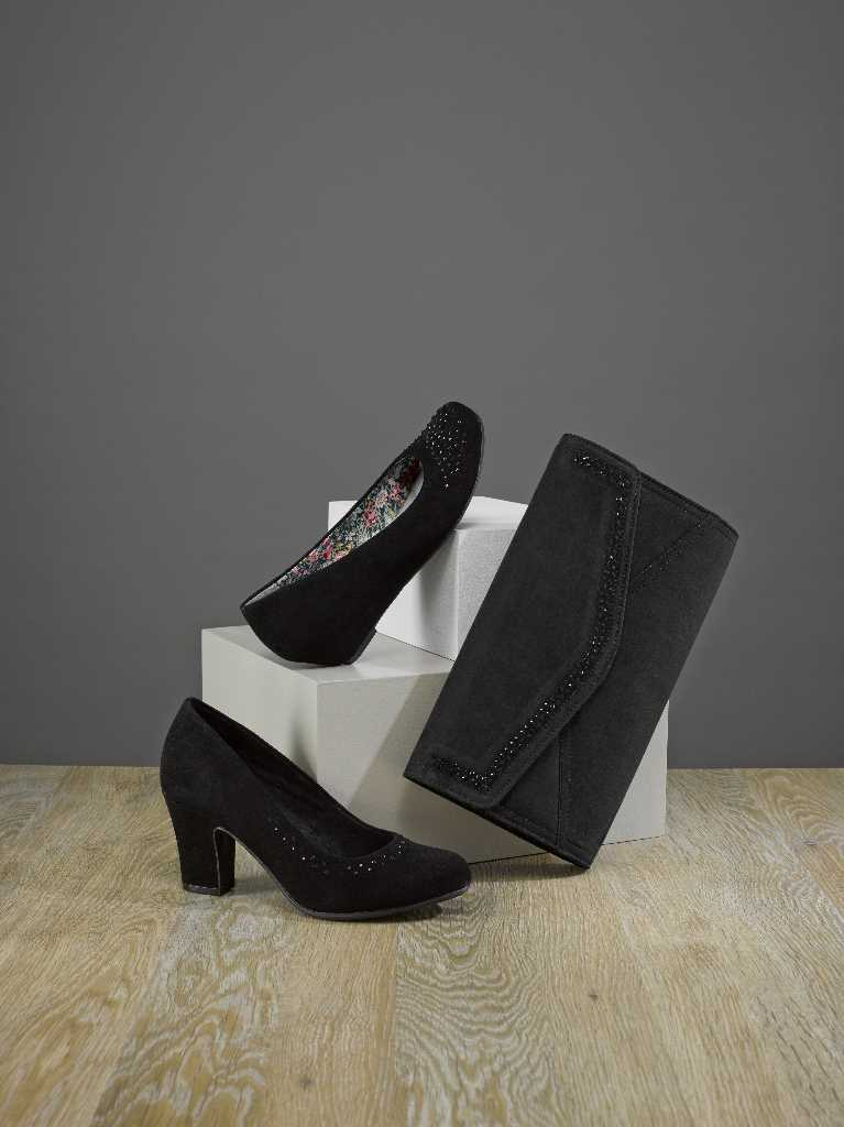 Comfortable women's party shoes and comfortable party heels.