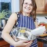 Jo Brigdale our creative chef.