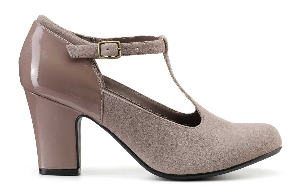 Cilla is a comfortable women's high heeled shoe.
