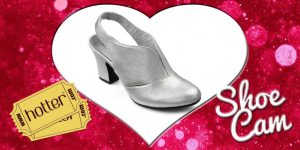 Fall in love with the beautiful Christie in Soft Silver - or why not try Christie in Black or Red!