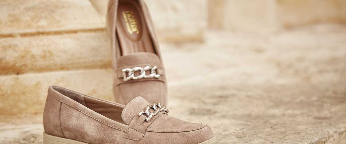classic loafer with hidden comfort features