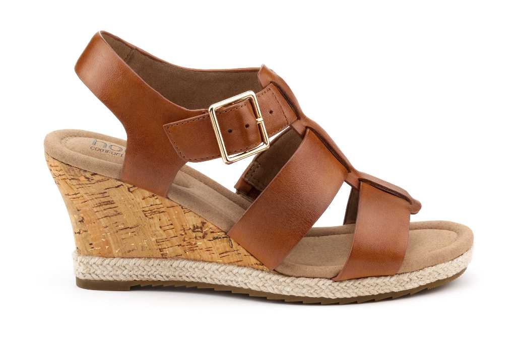 Comfortable women's wedge sandal Roxanne is a stylish summer choice.