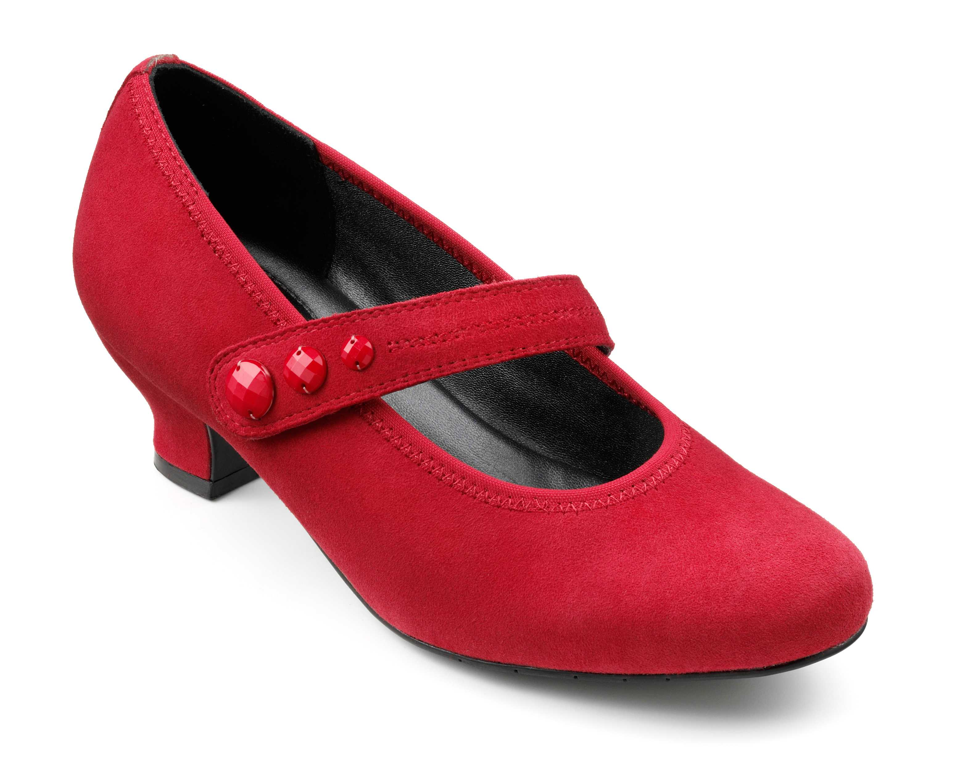 Women's heel Charmaine in Red