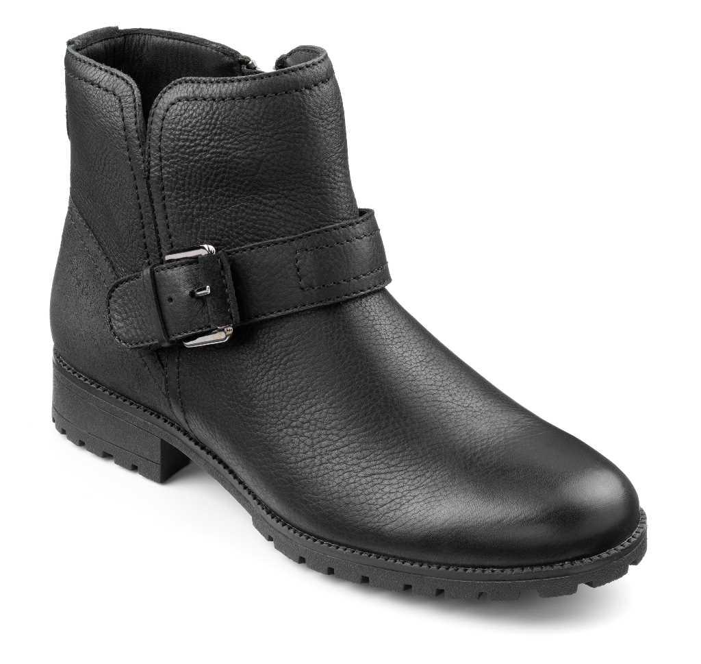 Women's biker boot Lotty in Black