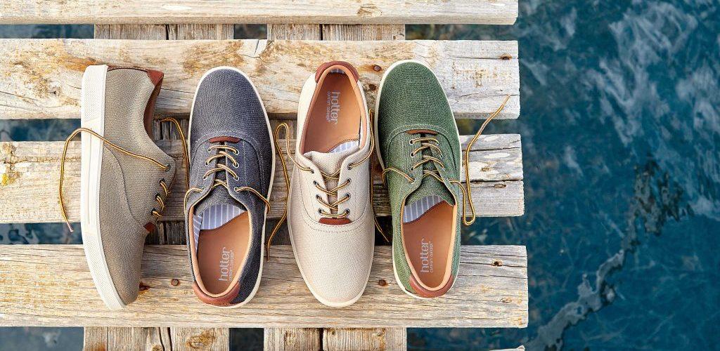Men's canvas shoe Rockingham