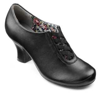 Smart women's heel Stephanie in colour Black