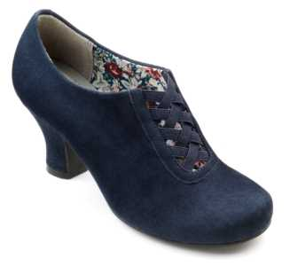 Smart women's heel Stephanie in colour Navy