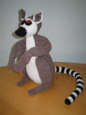 Lemur knitting pattern