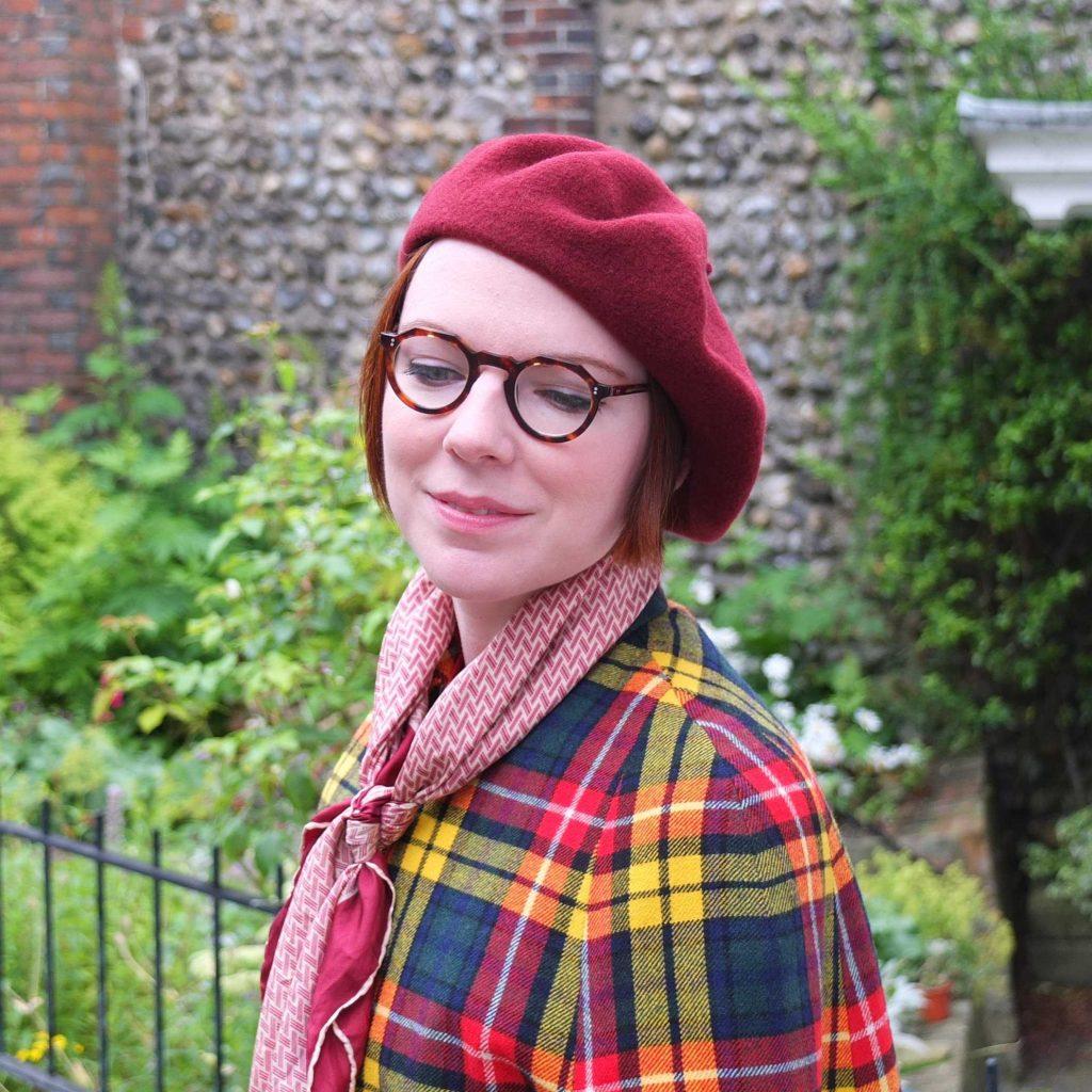 Vintage blogger Jenny Mearns styles Hotter shoe Crimdon