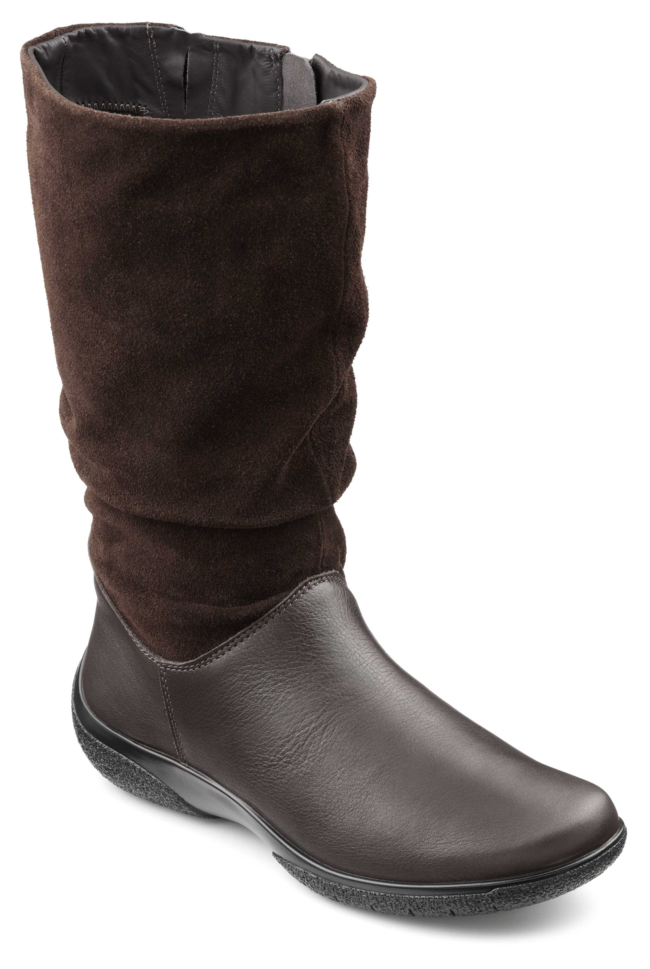 Comfortable women's boot Mystery in Chocolate