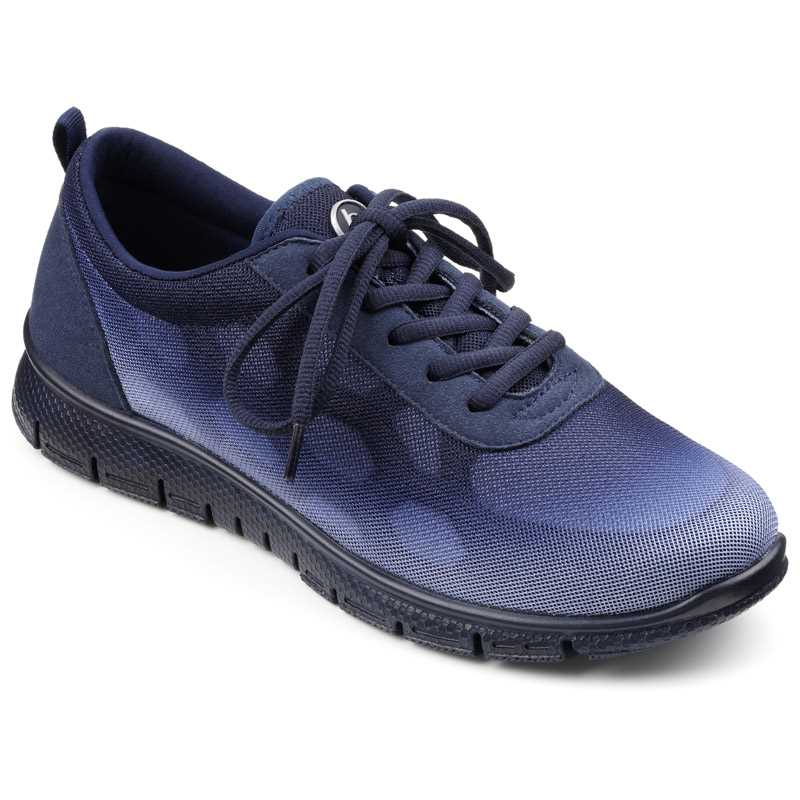Comfortable women's shoes, Active footwear, women's trainers, British made shoes, Hotter Active range, wide fitting trainers, older lady trainers, cusioned shoes, podiatrist approved footwear, Gym shoes