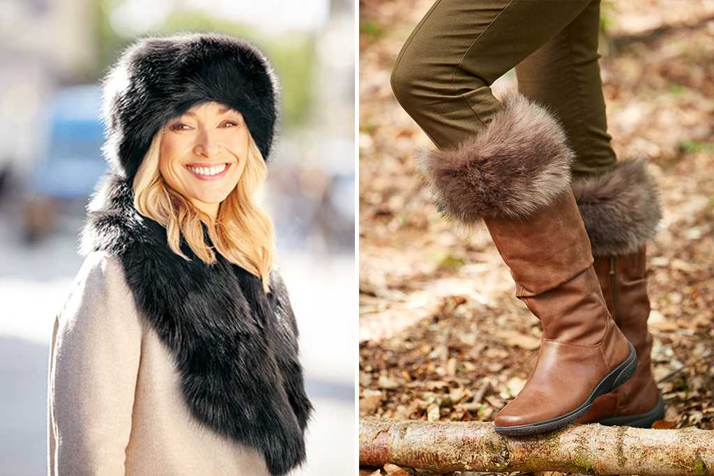Cosy Faux Fur – Luxury Leather Women's Accessories – Hotter UK