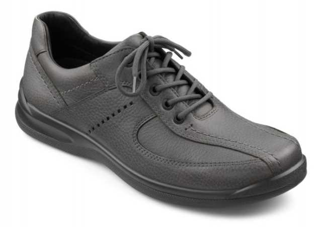 Men's lace up shoe Lance in Pebble Grey