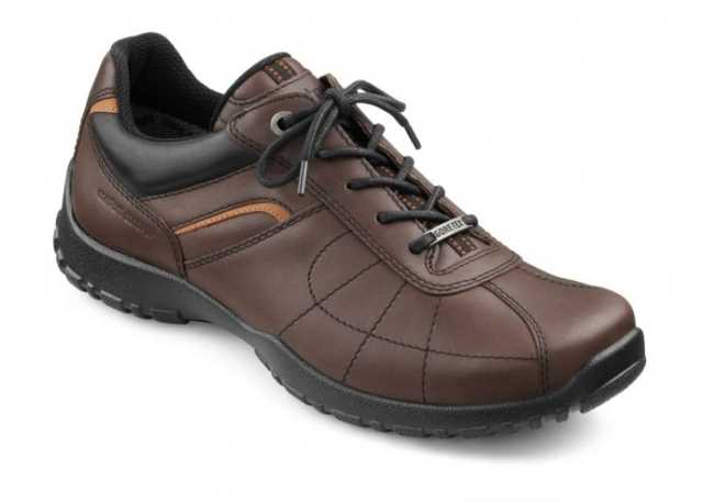 Men's GORE-TEX shoe Thor in colour Mahognay