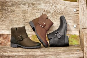 Lotty boots, ladies boots, Biker boots, Hotter footwear, wide fitting boots, zip fastening boots, dog walking boots, winter boots, waterproof footwear, comfortable women's shoes, British made footwear, nubuck boots, leather ankle boots