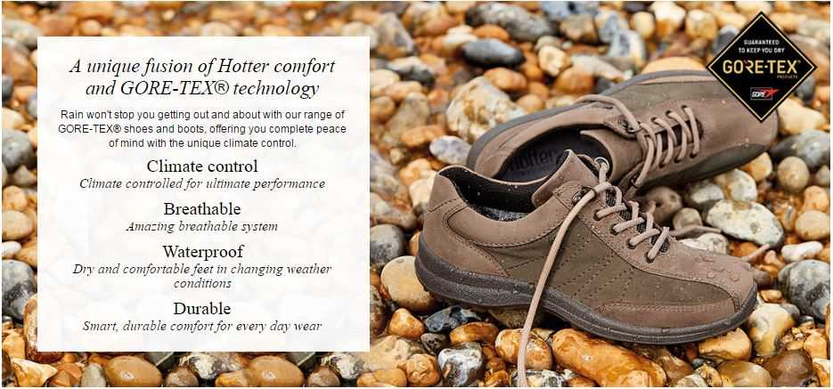 Hotter GORE-TEX© Products | IT'S A SHOE