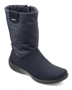 Orla GTX boots, GORE-TEX boots, waterproof shoes, winter boots, all-weather shoes, GORE-TEX, adjustable boots, wide fitting boots, comfortable women's shoes, British made, Hotter footwear, Leather boots, suede boots