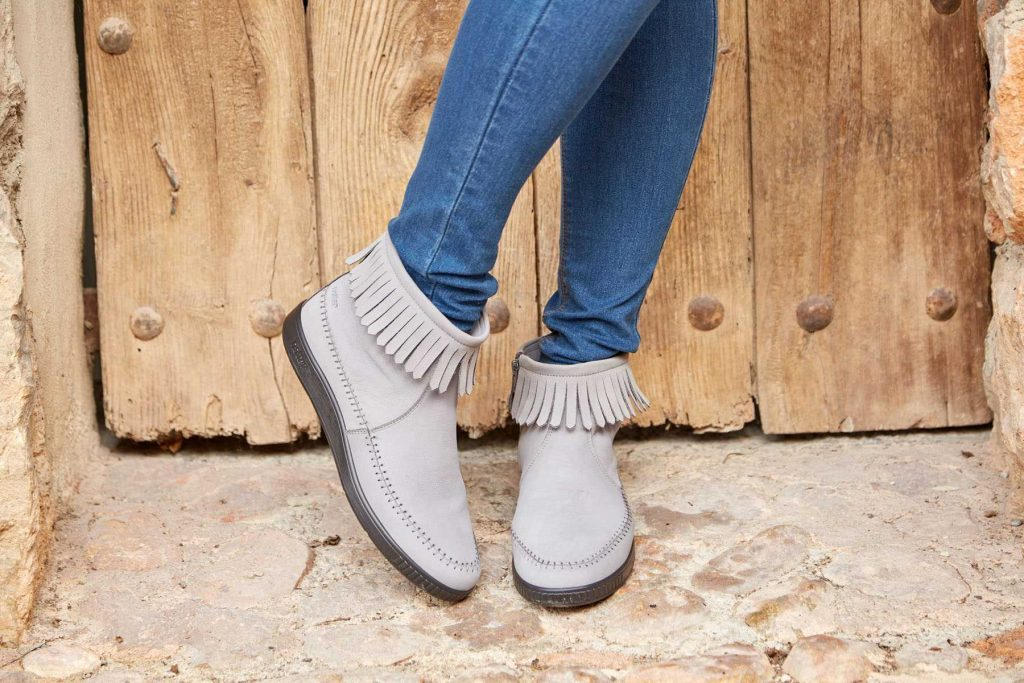 Pixie boots, SS17, New season shoes, boots, winter boots, suede boots, British made footwear, comfortable women's shoes, wide fitting shoes, footwear, boots, shoes, fringe boots, suede fringe, 70's style, retro inspired
