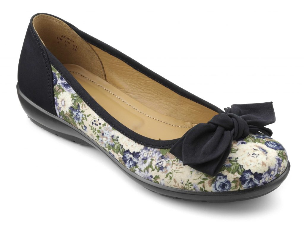 Inspired by a British country garden, this print is an easy way to inject a  touch of feminine charm into any wardrobe.