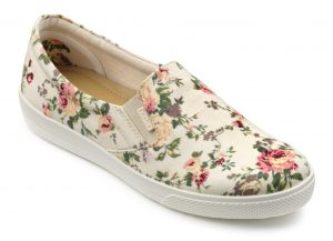 Hotter Originals, Mabel shoes, canvas shoes, wide fitting shoes, comfortable women's shoes, British made shoes, summer shoes