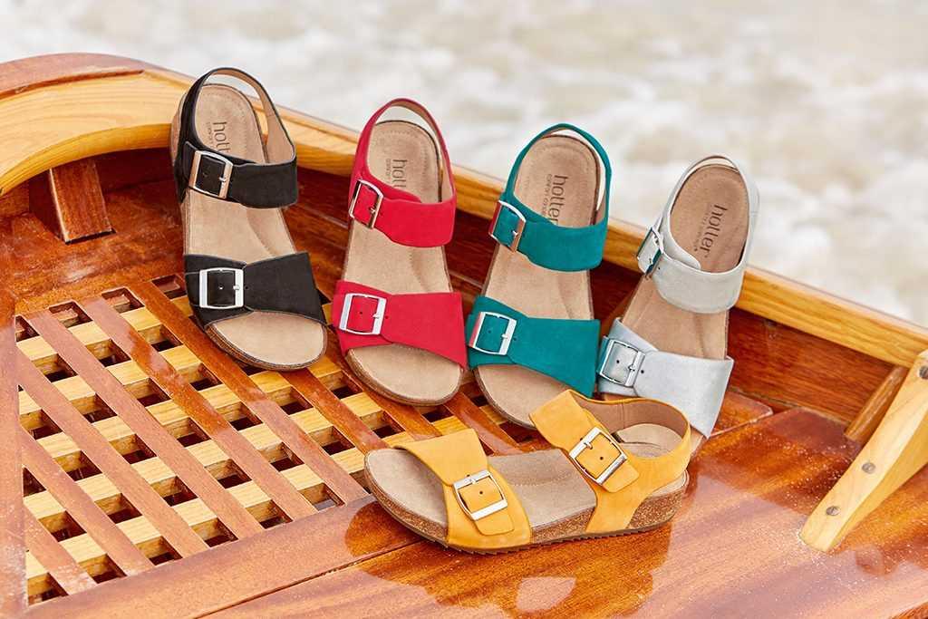 Colour Pop Sandals | Hotter Shoes