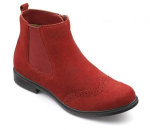 Hotter Originals, British Made Shoes, Comfortable Women's Footwear, SS17, Lightweight Shoes, Wide Fitting Shoes, Colour Me Beautiful, Chelsea Boots, formal shoes, man tailored, suede boots, ankle boots