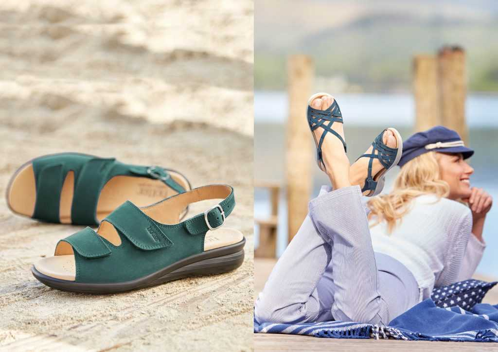 Hotter Originals, British Made Shoes, Comfortable Women's Footwear, SS17, Sandals, Flats, Lightweight Shoes, Wide Fitting Shoes, Active Wear, Casuals,