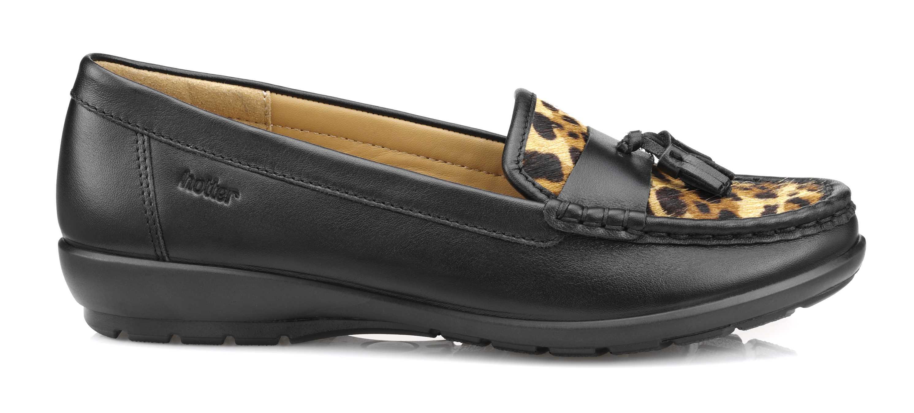 Women's leopard print moccasin