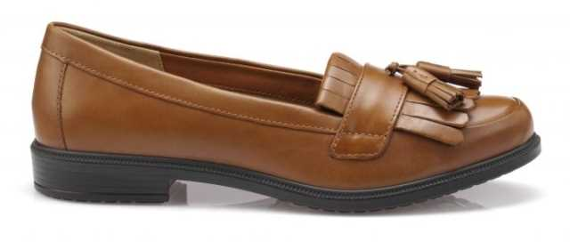 Women's tan loafer